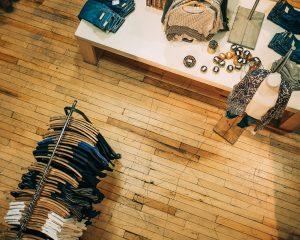 clothes shop using pos software