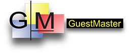 Logo of Guestmaster, one of out EPoS System partners